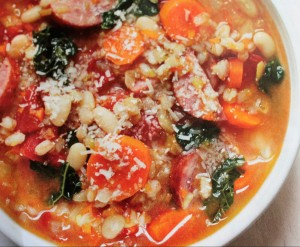 Ham Spinach Soup