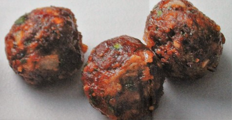 Mini Bacon Meatballs