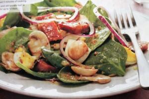 Ham/Spinach Salad