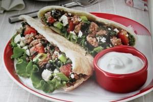 Beef Spinach Gyros