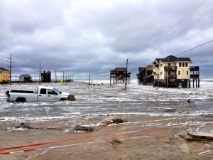 Flooding in Hatteras.