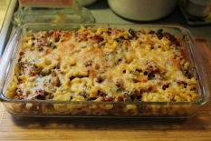 My Spinach Beef Mac Bake